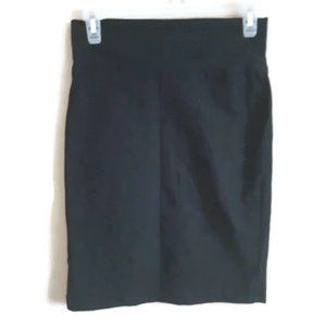 TWIK   stretchy pencil skirt with back slit